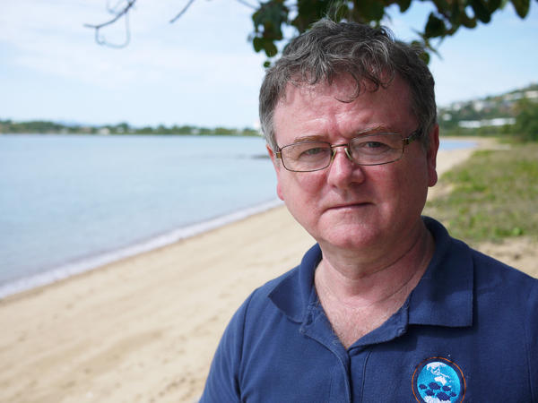 Terry Hughes directs the Coral Reef Center at James Cook University and is one of the world's top experts on the Great Barrier Reef. For the past two years, Hughes led a team of scientists in both aerial and underwater surveys of the reef. They found that one-third of the coral along the entire reef died between March and November of 2016 due to warmer-than-average ocean water temperatures.