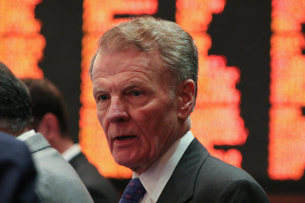 "House Speaker Michael Madigan said Democrats intended to continue working with Republicans ""to address the governor's issues unrelated to the budget."""