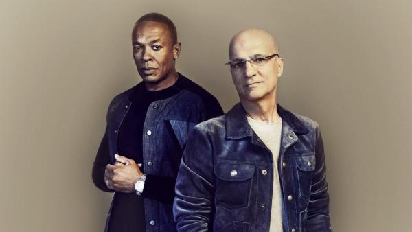 Dr. Dre and Jimmy Iovine, the subjects of <em>The Defiant Ones</em>.