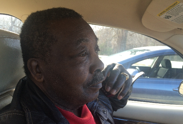 Eddie Wise on the day of his eviction from his family farm.