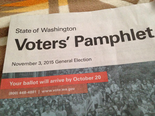 File photo. For the first time in many decades, there will be no statewide initiatives on the ballot this November in Washington state.