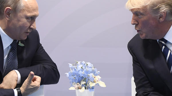 President Donald Trump says he and Russian President Vladimir Putin agreed to form a joint cyber security unit during their talks at the G-20 Summit in Hamburg, Germany.