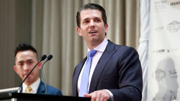 The president's eldest son, Donald Trump Jr., admitted Sunday in a statement that he met with a Russian lawyer in June 2016 who was said to have had information helpful to his father's campaign against Hillary Clinton. He said the lawyer did not end up giving any information.