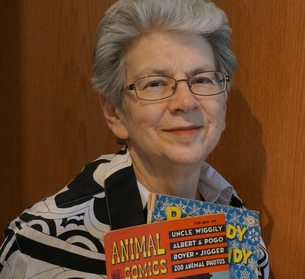 Maggie Thompson is an Eisner Awards judge and edited <em>Comics Buyer's Guide</em> with her late husband, Don.