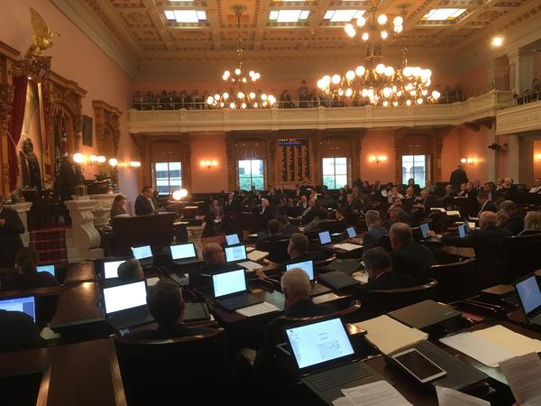 Ohio House votes to override 11 vetoes Gov. John Kasich made in the budget.