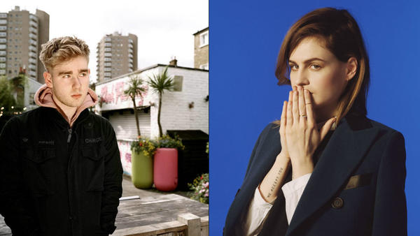 "Mura Masa (aka Alex Crossan) and Christine And The Queens' Héloïse Letissier recorded ""Second 2 None"" in one take."