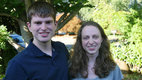 Teddy Fischer and Jane Gormley, student journalists from Mercer Island High School near Seattle, wrote stories based on an exclusive interview with Defense Secretary James Mattis.
