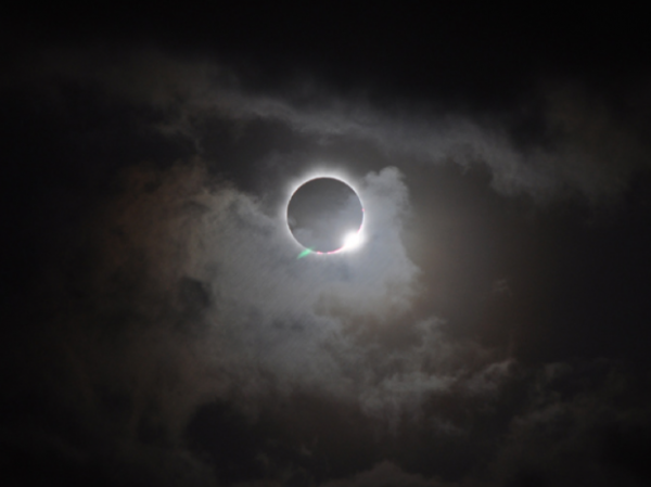 <p>Total eclipse viewed from Australia, Nov. 14, 2012.</p>