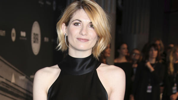 Actress Jodie Whittaker will be the first woman to play the role of the eccentric Time Lord. She's seen here last December.