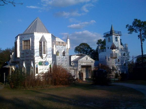 Solomon's Castle in Ona, FL (made from recycled printing plates)