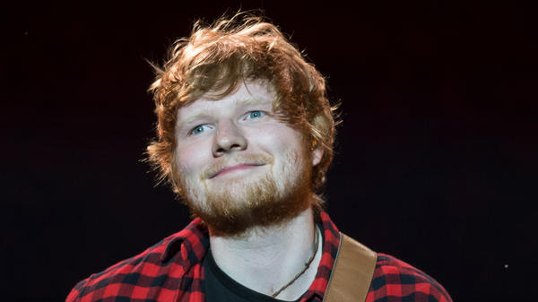 Singer-songwriter Ed Sheeran.