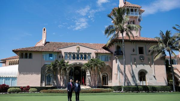 President Trump with Chinese President Xi Jinping at Mar-a-Lago in April.