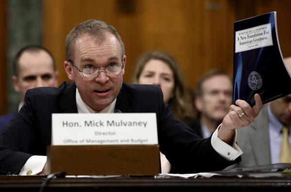 Office of Management and Budget Director Mick Mulvaney has promised three percent economic growth under a plan he's calling MAGAnomics.