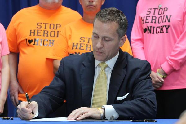 Missouri Gov. Eric Greitens has signed an executive order creating a prescription drug monitoring database.