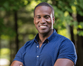John James announced Tuesday he's running for U.S. Senate.