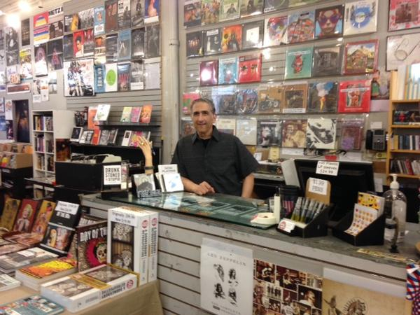 Lakeshore Record Exchange owner Andrew Chinnici