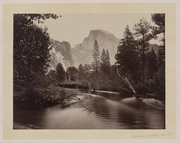 <p>Half Dome in Yosemite.</p>