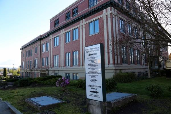 <p>Cowlitz County owned the buildings next door to the homeless shelter Love Overwhelming. The buildings included the Cowlitz County Commissioners and other government workers.</p>