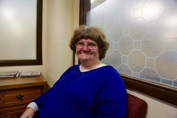<p>Debbie Perrine was one of 60 people staying at Love Overwhelming who were left with nowhere to go after the homeless shelter closed.</p>