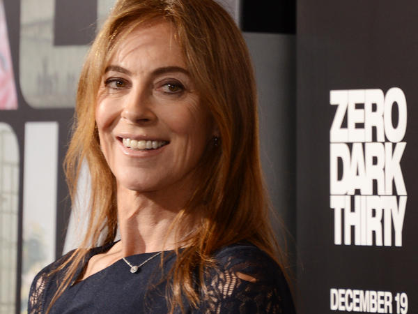 Kathryn Bigelow also directed 2012's <em>Zero Dark Thirty</em>, about the hunt for Osama bin Laden. She's pictured here at that film's 2012 premiere.