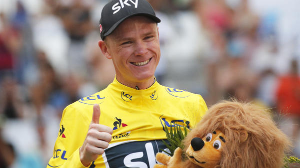 Britain's Chris Froome is expected to seal his third consecutive Tour de France win in Paris on Sunday.