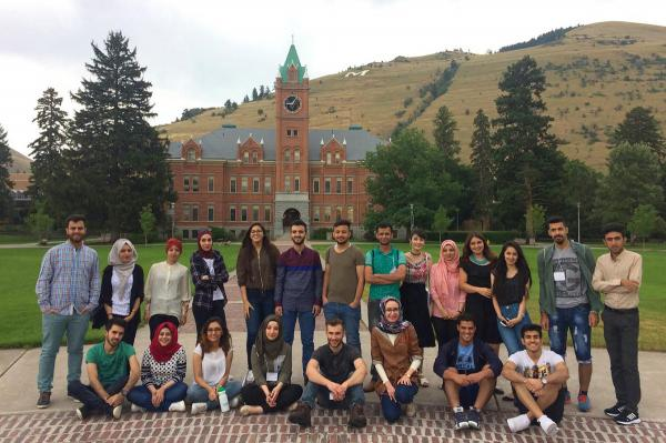 A group of 25 college students from Iraq are in Montana, as part of a Young Leaders Exchange Program arranged by the U.S. State Department and the University of Montana.