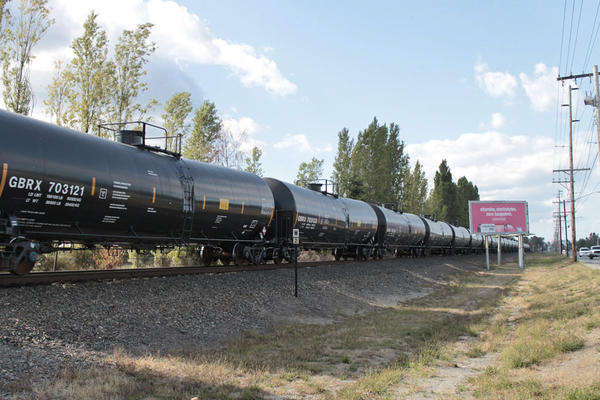 File photo. Spokane voters will decide in November whether to allow the shipment of coal and oil by rail through the city.