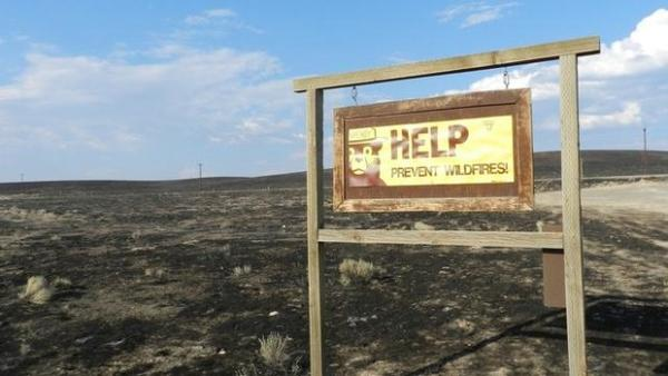 <p>A lightning strike ignited the Long Draw fire July 8, 2012. It burned almost 900 square miles, Oregon's largest fire of the past century.</p>