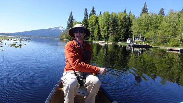 <p>John Alexander with the Klamath Bird Observatory looked at black tern populations in the Klamath Basin.</p>
