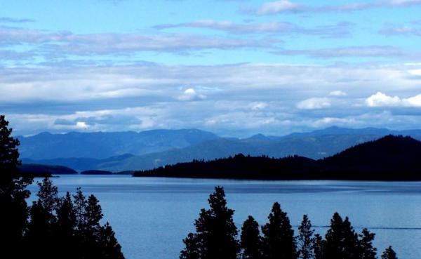 Flathead Lake near Polson, MT.