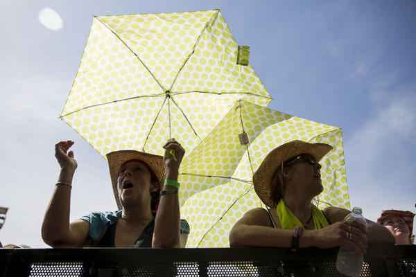 Austin is averaging 38 triple-digit days a year compared with just 12 in the 1980s.