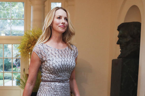 Laurene Powell Jobs, Founder of Emerson Collective, arrives for a State Dinner at the White House in 2016.