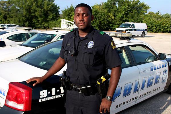 Dallas Police Officer Brannon Barber.