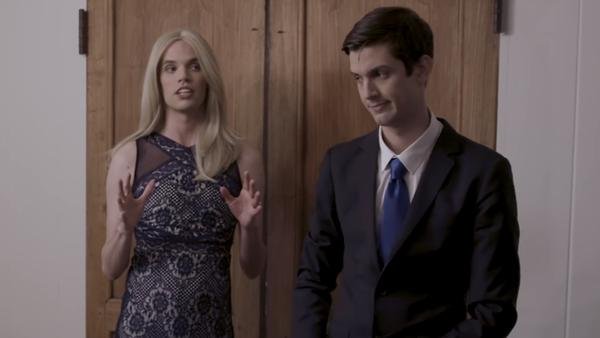 Josh Sharp and Aaron Jackson embrace the comedy of the Trump family in Funny or Die's <em>Jared & Ivanka</em>.