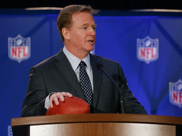 A $30 million partnership between the NFL and the National Institutes of Health is set to expire at the end of August, with much of the NFL's pledged money unspent. Above, NFL Commissioner Roger Goodell in February.