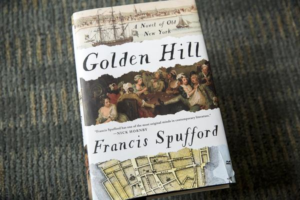 """Golden Hill,"" by Francis Spufford. (Robin Lubbock/WBUR)"