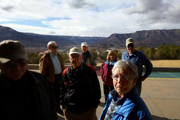 In 2009, the Battlement Mesa Concerned Citizens group, pictured above, asked Garfield County for a health study to examine the potential effects of drilling in their community.