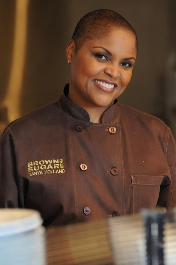 Tanya Holland is the executive chef and owner of Brown Sugar Kitchen and B-Side BBQ in Oakland, Calif.