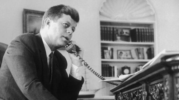 <em>Listening In,</em> a new book and CD set, includes more than 260 hours of transcribed conversations and 2.5 hours of audio from inside the Kennedy White House.