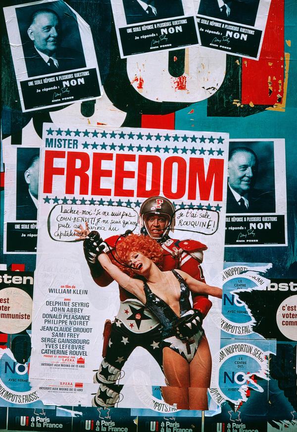 Poster for the film <em>Mister Freedom, </em>1967