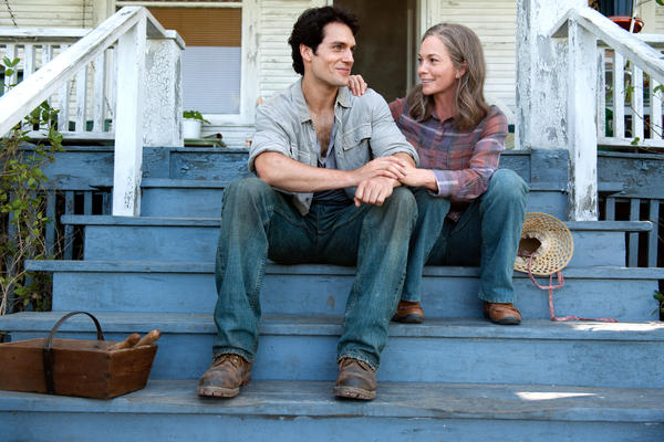 This telling of the Superman story leans hard on the tension between the fit-in-at-all-costs imperatives of Kal-El's Kansas upbringing, featuring Diane Lane as surrogate mother Martha Kent ...