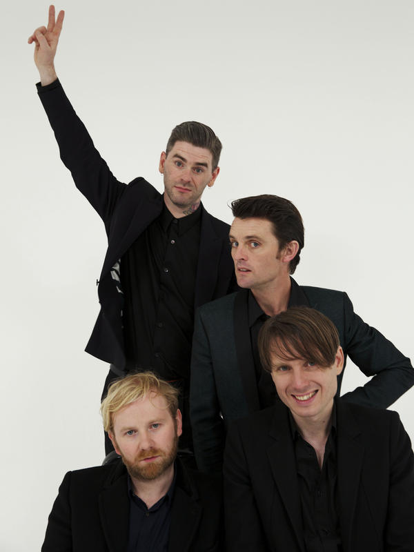 Scottish band Franz Ferdinand.