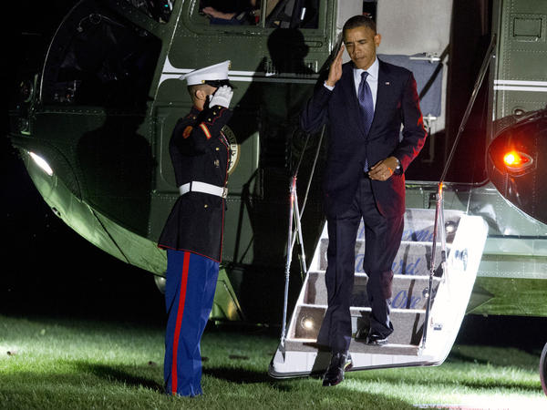 President Obama returns to the White House on Friday after the G-20 summit in Russia.