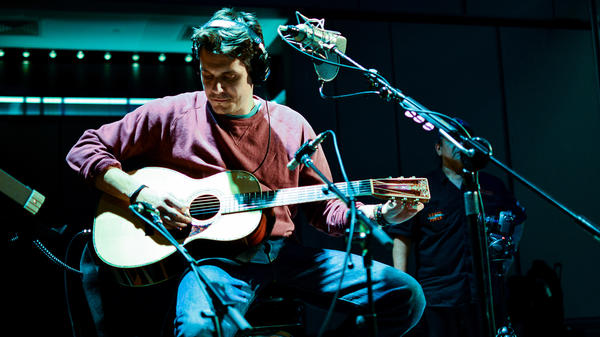 John Mayer in Studio 1 at NPR's Washington, D.C. headquarters.