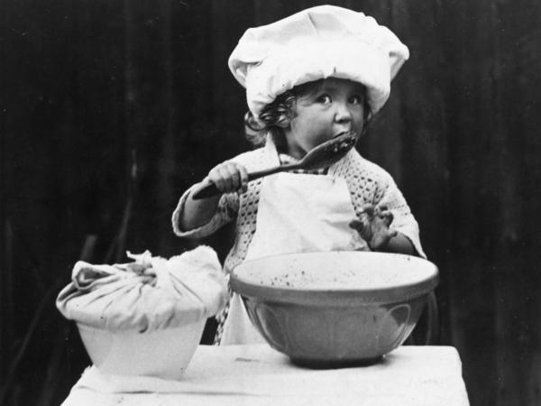As one listener points out, we might not have carrot cake today if Germans weren't forced to bake with ersatz materials during World War I. This little girl might have had to settle for chocolate instead.