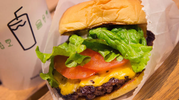 Shake Shack made its stock market debut Friday, and shares quickly soared to nearly $50. The chain hopes to become the Chipotle of burger joints, but it faces much competition in the fast-casual market.