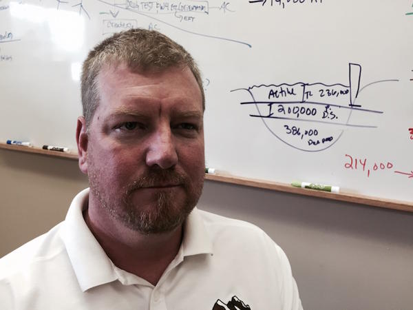 Scott Ravell is the Roza Irrigation District manager out of Sunnyside, Washington. He says not all farmers on his district might make it this year with much higher-than-normal water costs.
