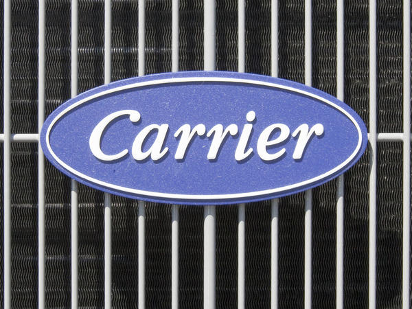A Carrier air conditioner in 2009. The company has drawn criticism for announcing plans to close its plant in Indiana and relocate jobs to Mexico.