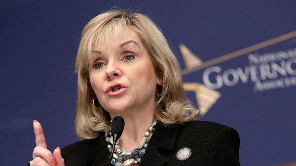 Mary Fallin, seen in 2014, is the governor of Oklahoma.