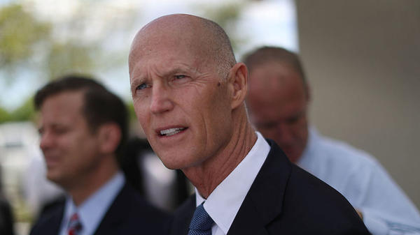 Rick Scott is the governor of Florida.